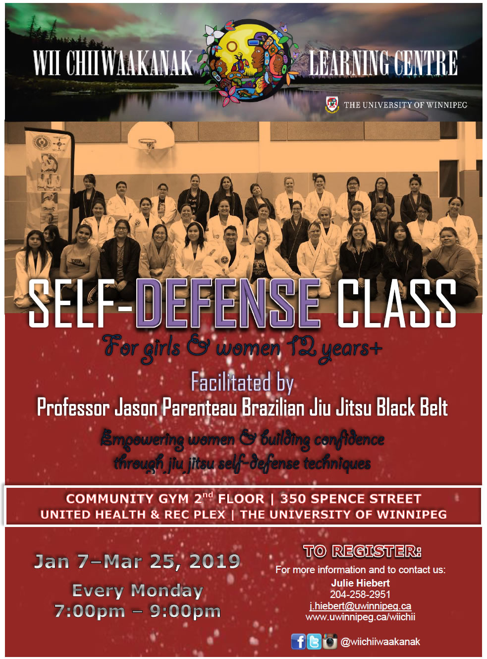 Self-Defense Class for Girls & Women poster